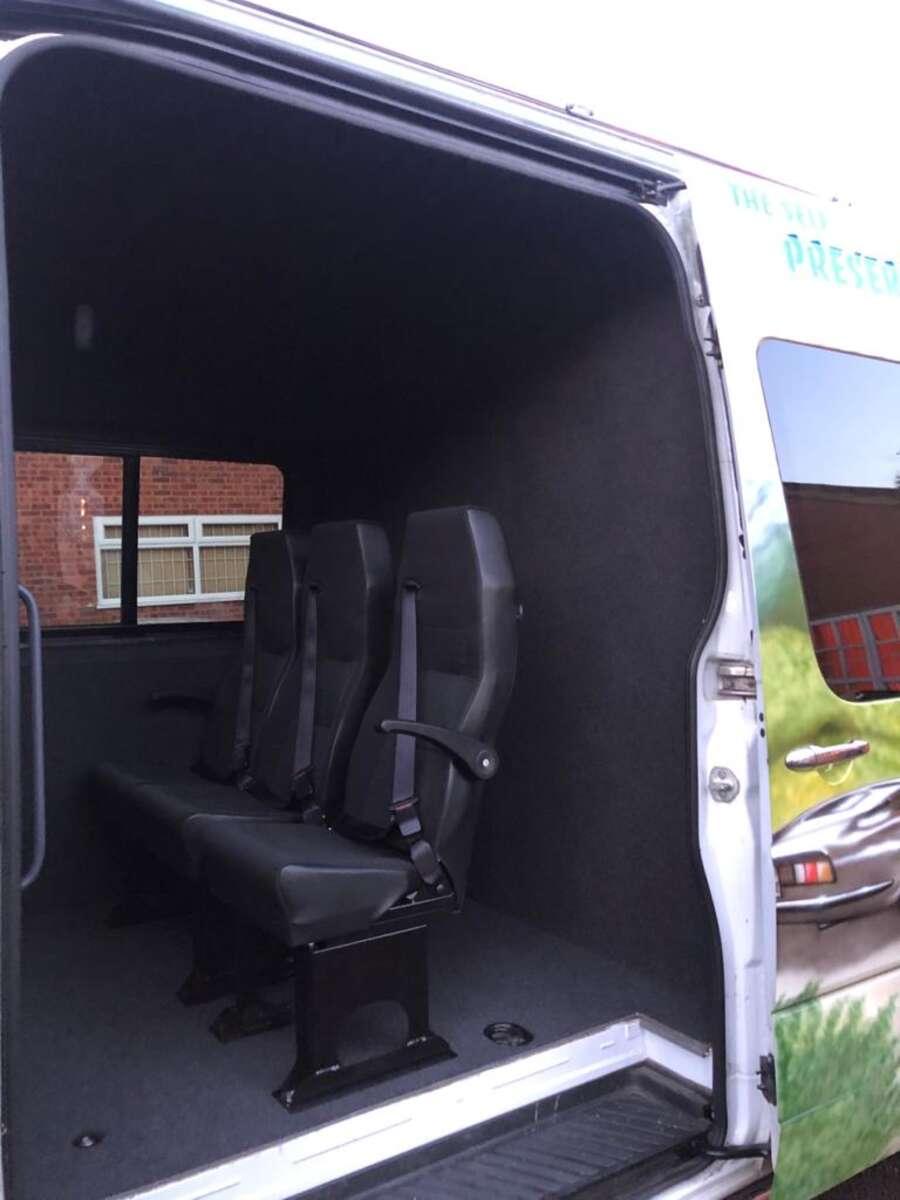 aftermarket van seats
