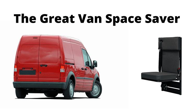 Tip up van seats