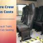 Renault trafic crew cab conversion